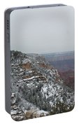 Grand Canyon In Snow Portable Battery Charger