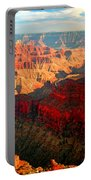 Grand Canyon National Park Sunset On North Rim Portable Battery Charger