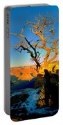 Grand Canyon National Park Winter Sunrise On South Rim Portable Battery Charger