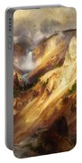 Grand Canyon Of The Yellowstone Portable Battery Charger