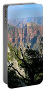 Grand Canyon Sunset On North Rim Portable Battery Charger