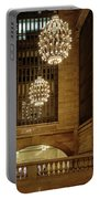 Grand Central Terminal Light Reflections Portable Battery Charger