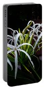 Grand Crinum Lily Portable Battery Charger