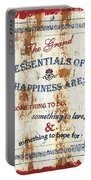 Grand Essentials Of Happiness Portable Battery Charger