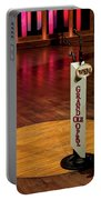 Grand Ole Opry House Stage Flooring - Nashville, Tennessee Portable Battery Charger