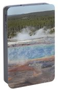 Grand Prismatic Spring, Midway Geyser Portable Battery Charger