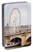 Grande Roue In Paris Portable Battery Charger