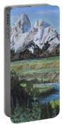 Grand Teton And Snake River Portable Battery Charger