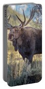 Grand Teton Moose Portable Battery Charger
