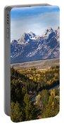 Grand Teton Mountains Portable Battery Charger