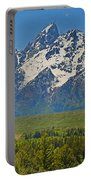 Grand Teton National Park And Snake River Portable Battery Charger