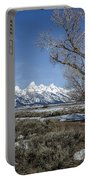 Grand Tetons From Gros Ventre Portable Battery Charger