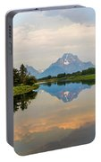 Grand Teton's Reflection Portable Battery Charger