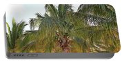 Grand Turk Palms On The Beach Portable Battery Charger