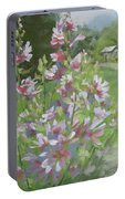 Grandma's Flowers Portable Battery Charger