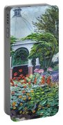 Grandmother's Garden Flowers Portable Battery Charger