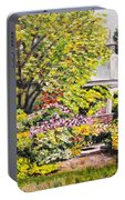 Grandmother's Garden Portable Battery Charger