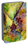 Grapes And Leaves IIi Portable Battery Charger