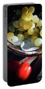 Grapes And Tomatoes Portable Battery Charger