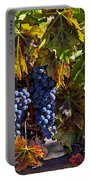 Grapes Of The Napa Valley Portable Battery Charger