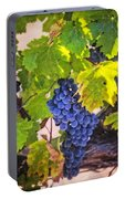 Grapevine With Texture Portable Battery Charger