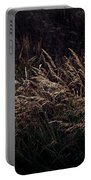 Grass At Sunset Portable Battery Charger