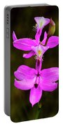 Grass Pink Orchid Portable Battery Charger