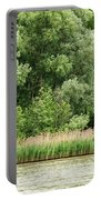 Grasses And Trees Portable Battery Charger