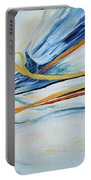 Grasses In The Snow Portable Battery Charger by Joanne Smoley