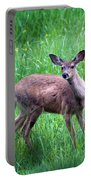 Grassy Doe Portable Battery Charger