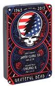 Grateful Dead Santa Clara Ca Portable Battery Charger