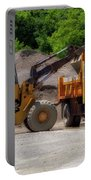 Gravel Pit Loader And Dump Truck 01 Portable Battery Charger