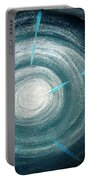 Gray-blue Star. Sparkling Light Portable Battery Charger