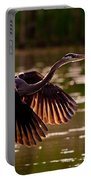 Gray Heron Portable Battery Charger