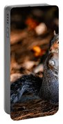 Gray Squirrel Dance Portable Battery Charger