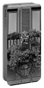 Grayscale Foliage Portable Battery Charger