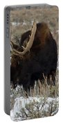 Grazing Bull Moose Portable Battery Charger