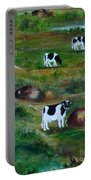 Grazing Cows. Portable Battery Charger