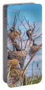 Great Black Cormorants Colony - Danube Delta Portable Battery Charger