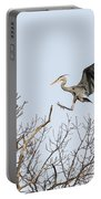 Great Blue Heron 2014-4 Portable Battery Charger