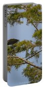 Great Blue Heron In Cypress  Portable Battery Charger