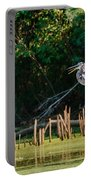 Great Blue Heron Mouth Portable Battery Charger