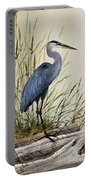 Great Blue Heron Splendor Portable Battery Charger