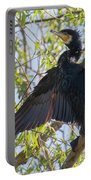 Great Cormorant - High In The Tree Portable Battery Charger