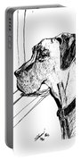Great Dane Waiting Portable Battery Charger