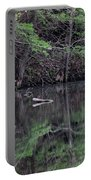 Great Egret Resting Portable Battery Charger