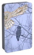 Great Gray Owl Together Portable Battery Charger