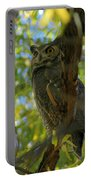 Great Horned Majesty Portable Battery Charger