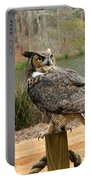 Great Horned Owl 1 Portable Battery Charger