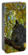 Great Horned Owl 2 Portable Battery Charger